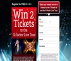 Win X Factor Live Tickets